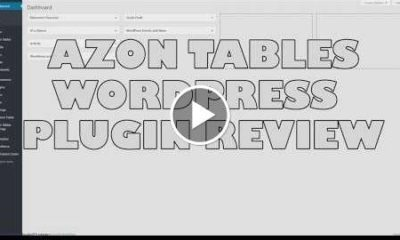 Azon Tables Amazon Affiliate Tables WordPress Plugin Review - Best Amazon Tables plugin?