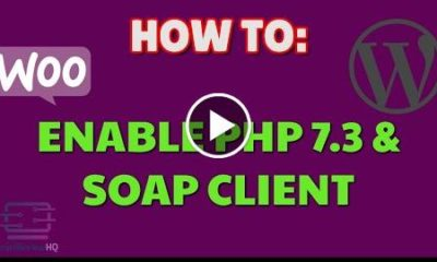 How to enable PHP 7.3 and SOAP Client WordPress Woozone AAWP Plugins