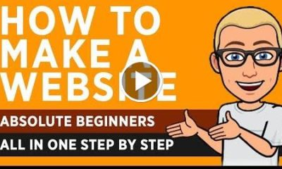 How To Make a Website - Absolute Beginners - All in One Step by Step - 2019
