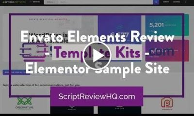 Envato Elements Review - Template Kits - Elementor Sample Site