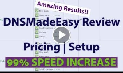 DNSMadeEasy Review  DNSMadeEasy Pricing & Setup  AMAZING RESULTS!