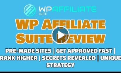 WP Affiliate Suite Review Get Approved Fast Ranking Secrets [REVEALED]