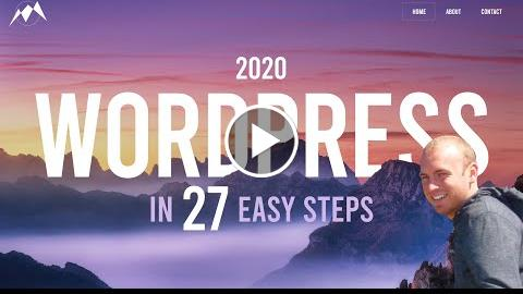 How To Make a WordPress Website - 2020
