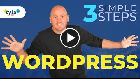 How To Make a WordPress Website - 2021 - 3 Simple Steps